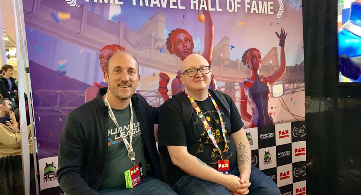Tycho and Chilko at PAX